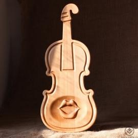 Kuchyňské prkénko - Upovídané housličky
