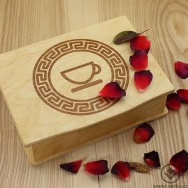 Dřevěná krabička na čaj Tora - Cup
