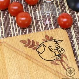 Kuchyňské prkénko Paiko - Prasátko v žitě